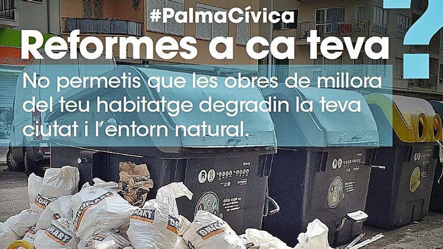 Campaña de Emaya y Bricomart contra vertidos de escombros