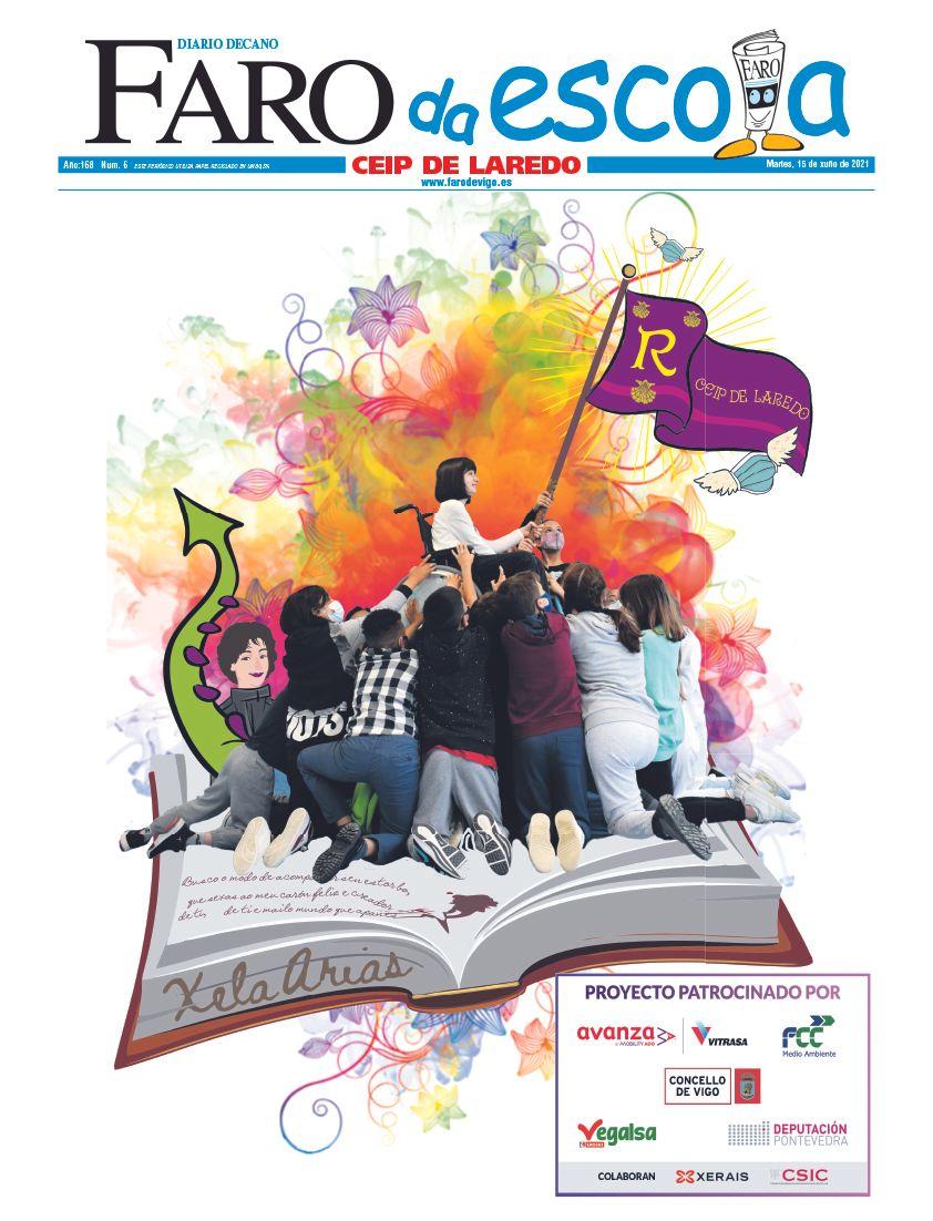 Premio portada innovadora. CEIP Laredo