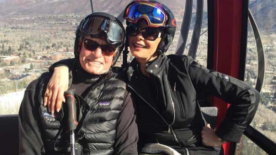 Michael Douglas y Catherine Zeta-Jones reaparecen en Aspen