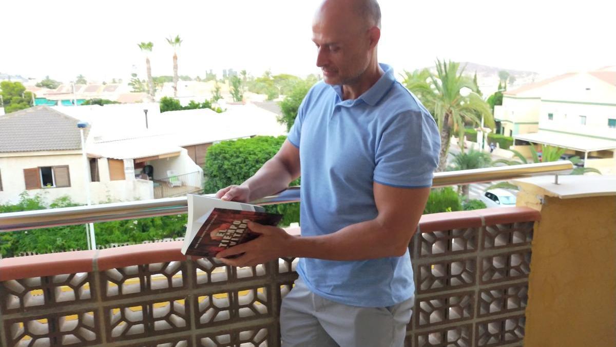 El escritor Juan Diego Arroyo.