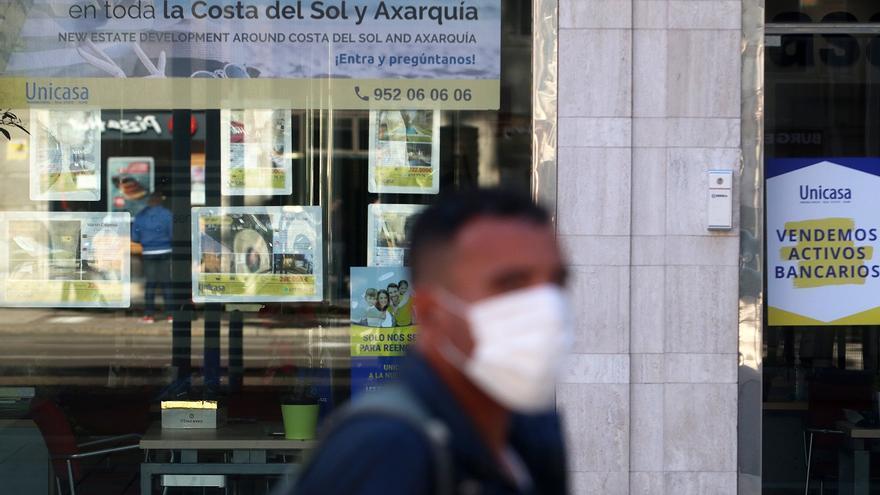 Las ventas de viviendas en Málaga caen un 22,7% por el desplome de la segunda mano