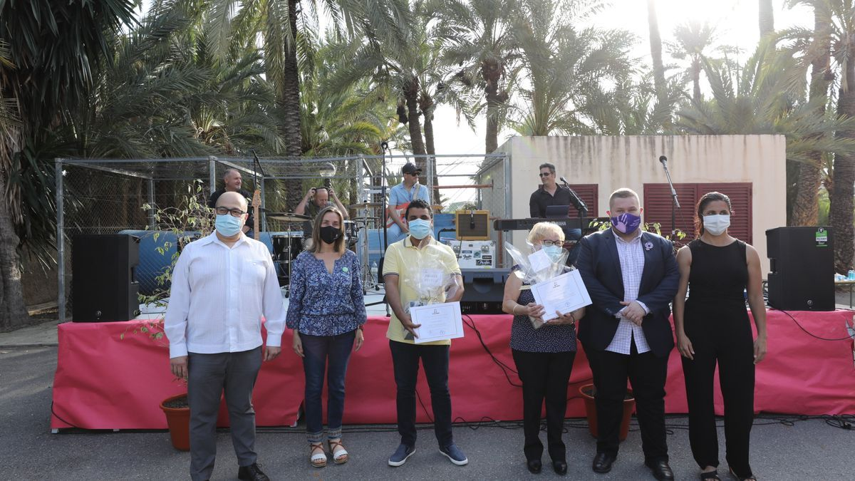 La gala tuvo lugar en los exteriores del FPA Mercè Rodoreda con las medidas de protección del COVID pertinentes