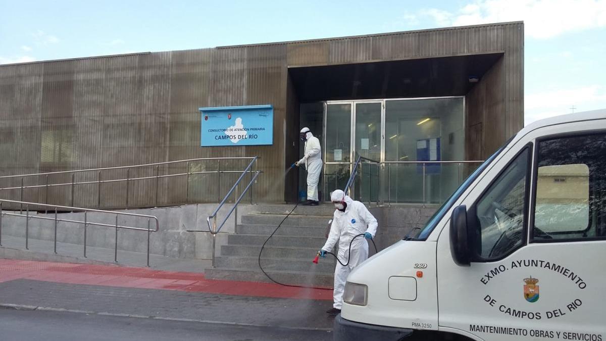 Campos del Río solicita a Sanidad que mantenga abierto el Centro de Salud del Municipio