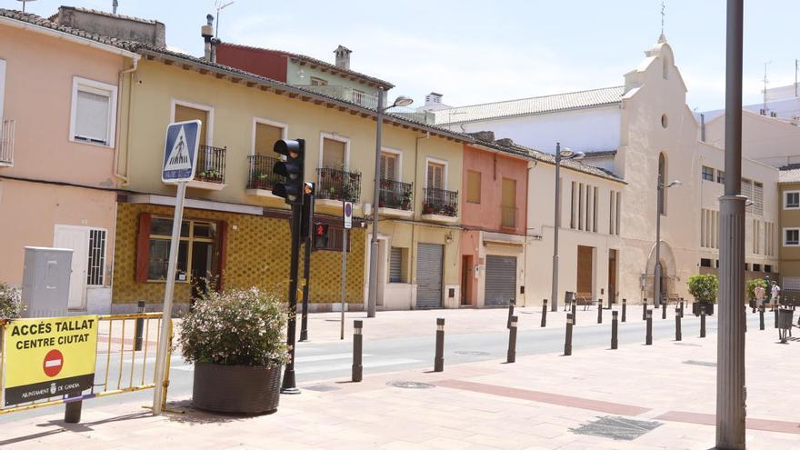 Gandia cierra al tráfico el Centro Histórico