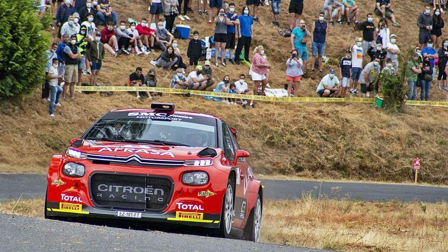 Pepe López gana el Rallye de Ourense