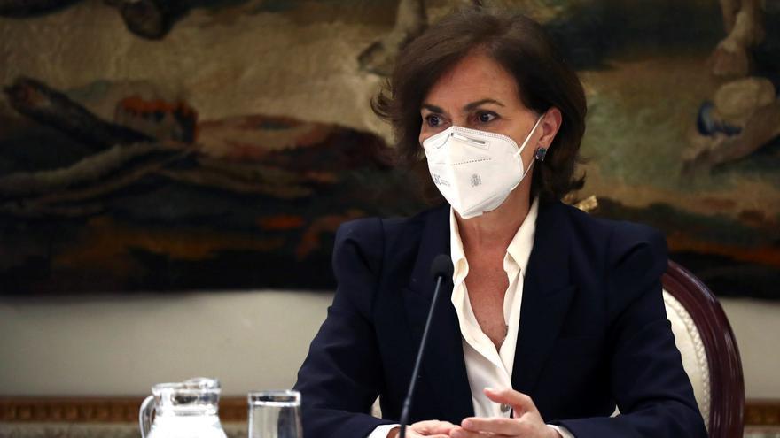 """Calvo insiste en que hay """"armas jurídicas"""" para gestionar la pandemia tras la alarma"""