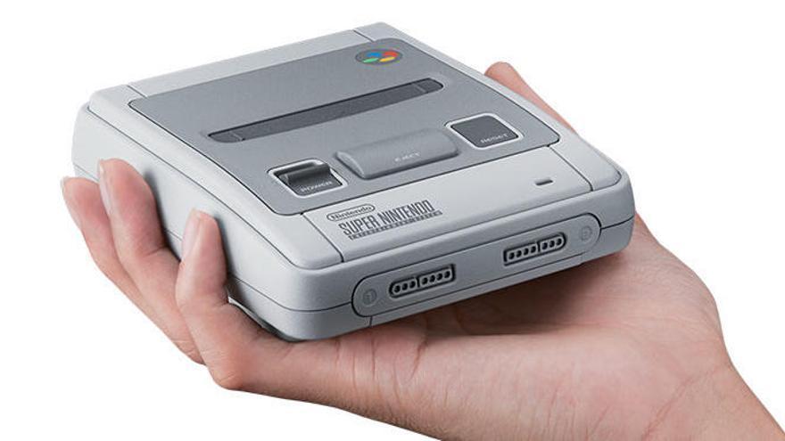 La Nintendo SNES mini arribarà a Espanya el 29 de setembre amb 21 títols disponibles