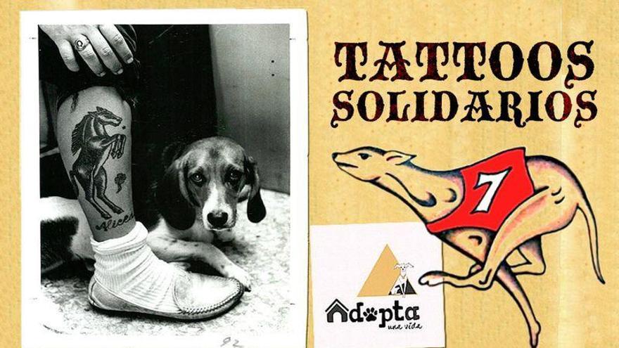 Tatuajes solidarios por 50 euros en Castellón