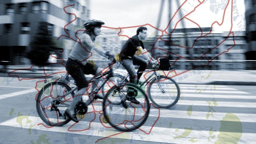 Patinetes públicos, carriles bici y un Antiguo sin coches, plan de choque del Oviedo verde
