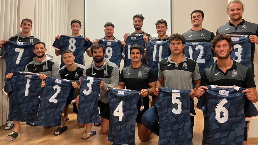 Javier de Juan triunfa en Elche con la selección de rugby 7