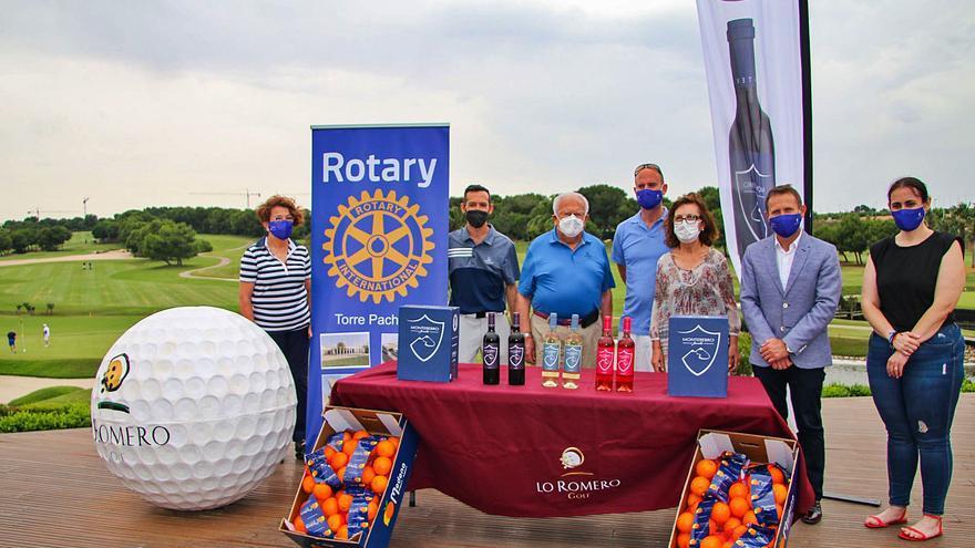El Club Rotario de Torre Pacheco busca la solidaridad en Lo Romero Golf