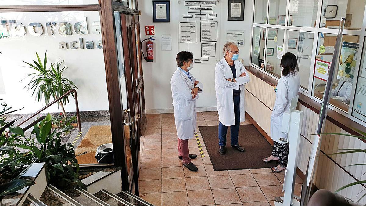 Las instalaciones de  Alborada, en Isaac Peral, 6.     //  MARTA G. BREA