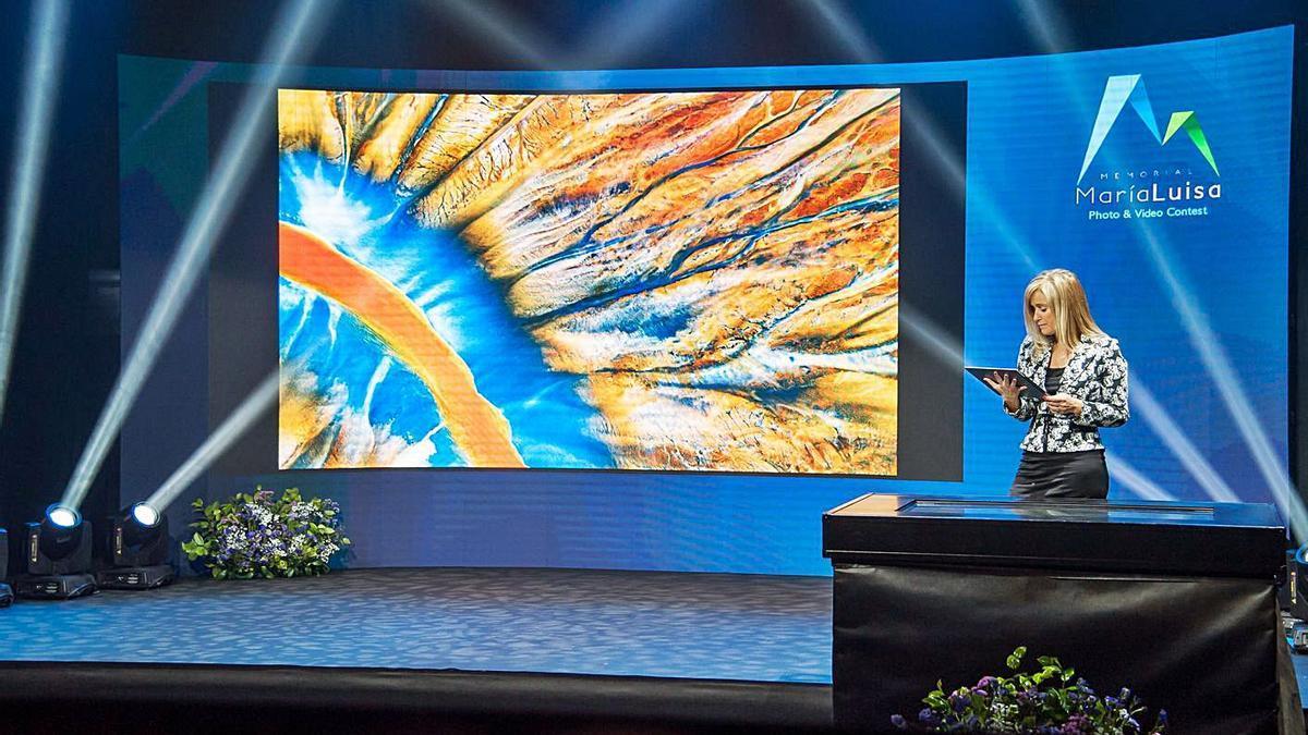 Un momento de la gala virtual celebrada ayer.   LNE