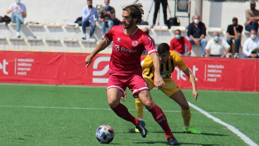 Fran Moreno, veteranía y experiencia para el centro del campo del Mar Menor FC