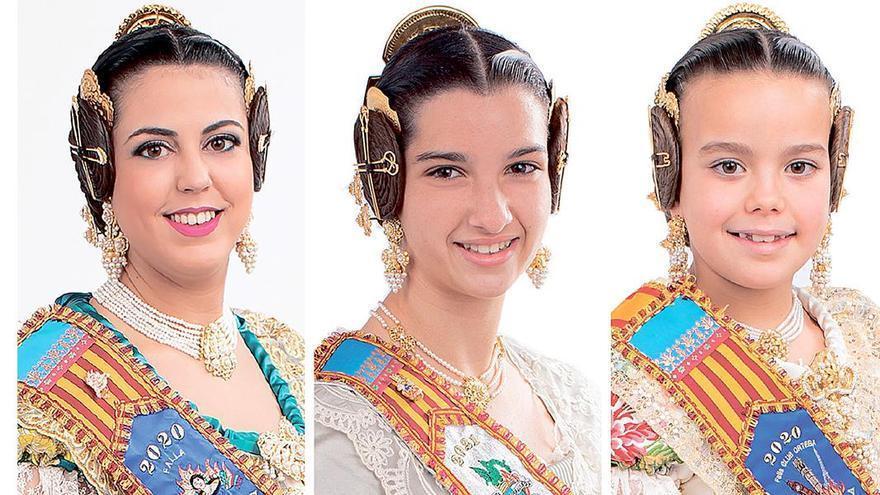 Conoce a las tres jóvenes que aspiran a ser las nuevas reinas falleras de Burriana