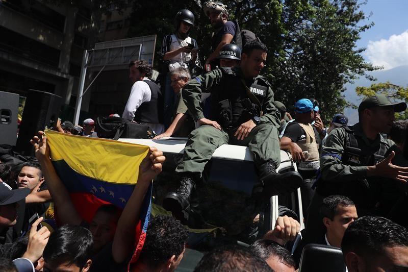 Tensión en Venezuela