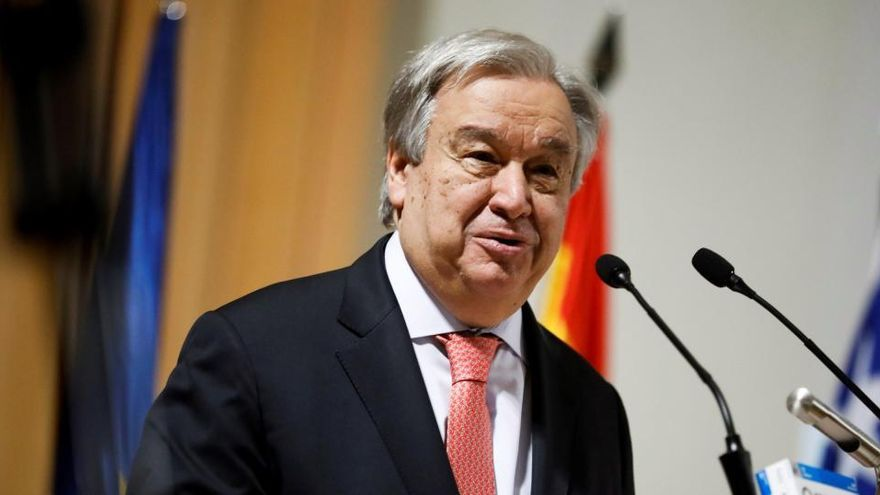 """Guterres dice que la OMS no intentó ayudar a China a """"esconder la realidad"""""""