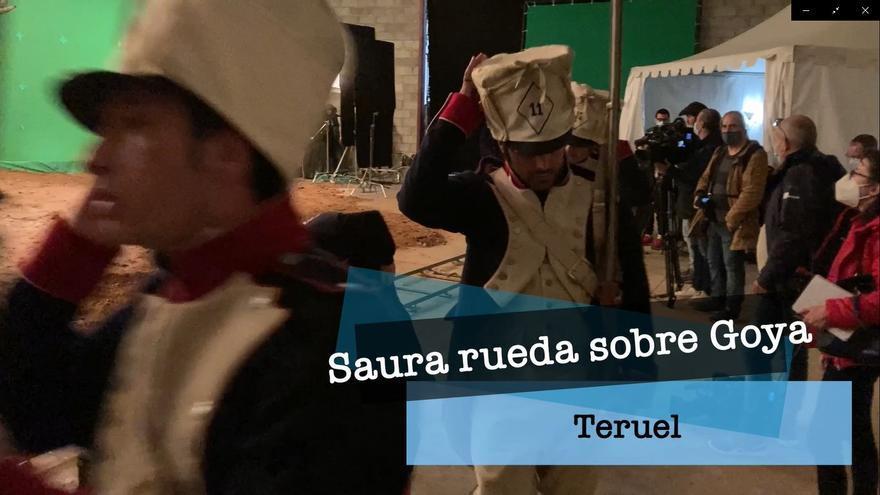 Rodaje de Carlos Saura en Teruel