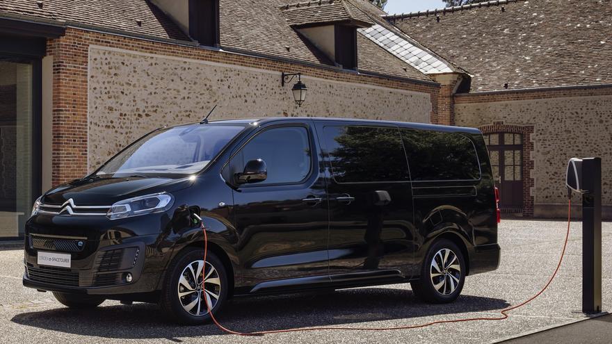 El Citroën Ë-Spacetourer 100% eléctrico llega a España