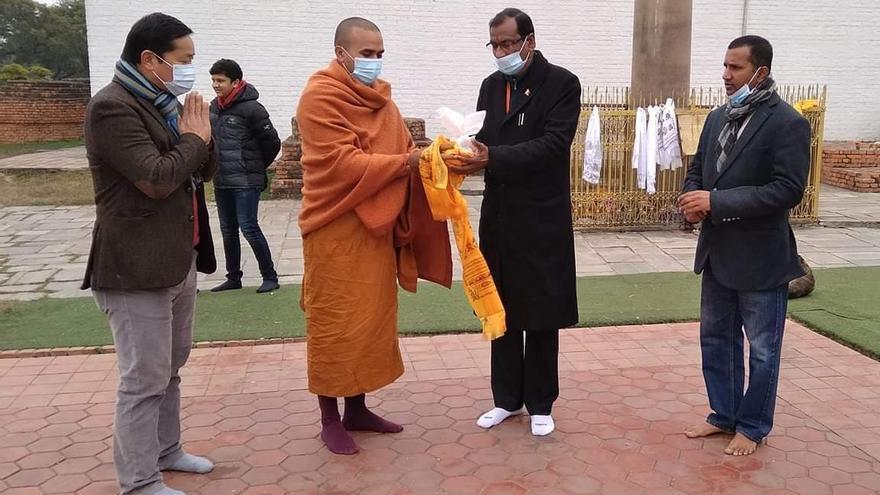 Cáceres tendrá tierra sagrada de ciudades nepalís