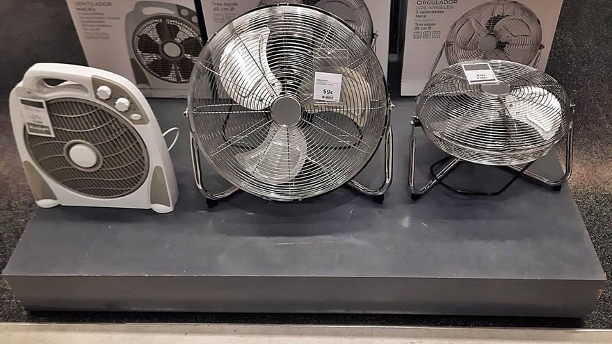 Se prevé que las ventas de aparatos de ventilación suban durante la semana