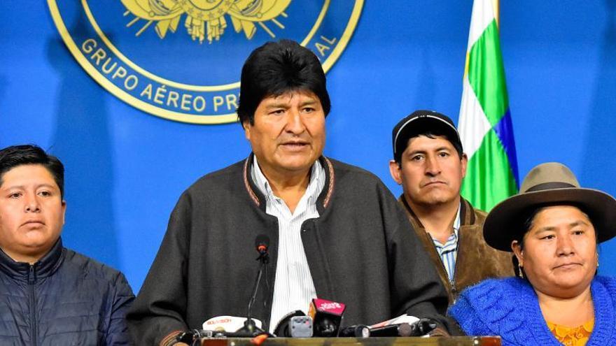 El Tribunal Electoral de Bolivia veta la candidatura de Evo Morales al Senado