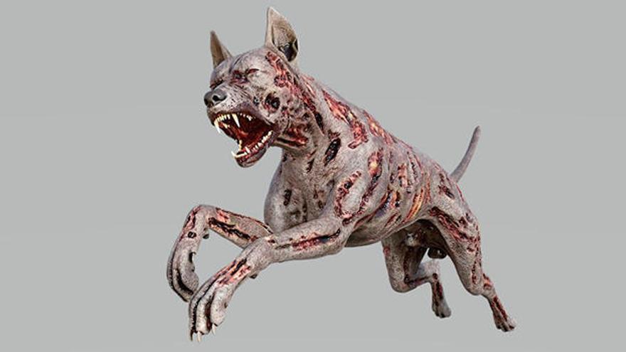 ¿El chupacabras podría ser un lobo con sarna?