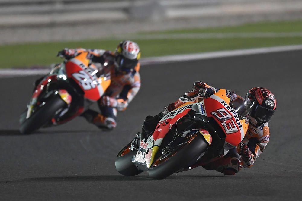 03 Qatar TEST MotoGP circuito de Losail 1, 2 y 3 ...