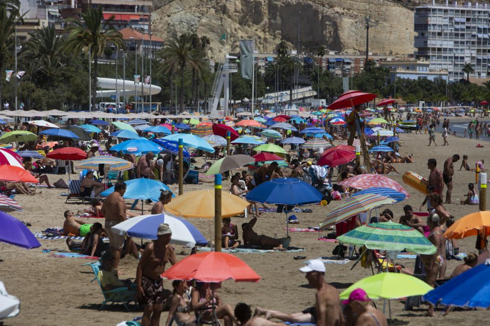 La segunda ola de calor del verano trae un fin de semana tórrido