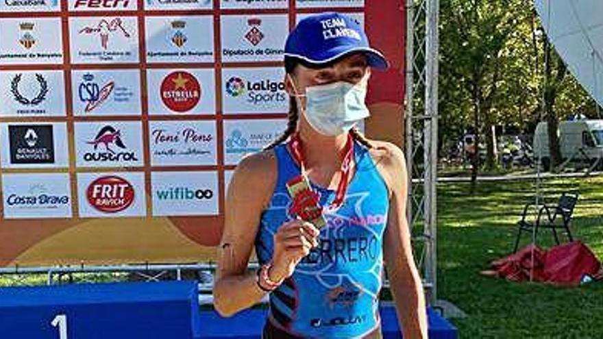 Paula Herrero, campeona de España élite