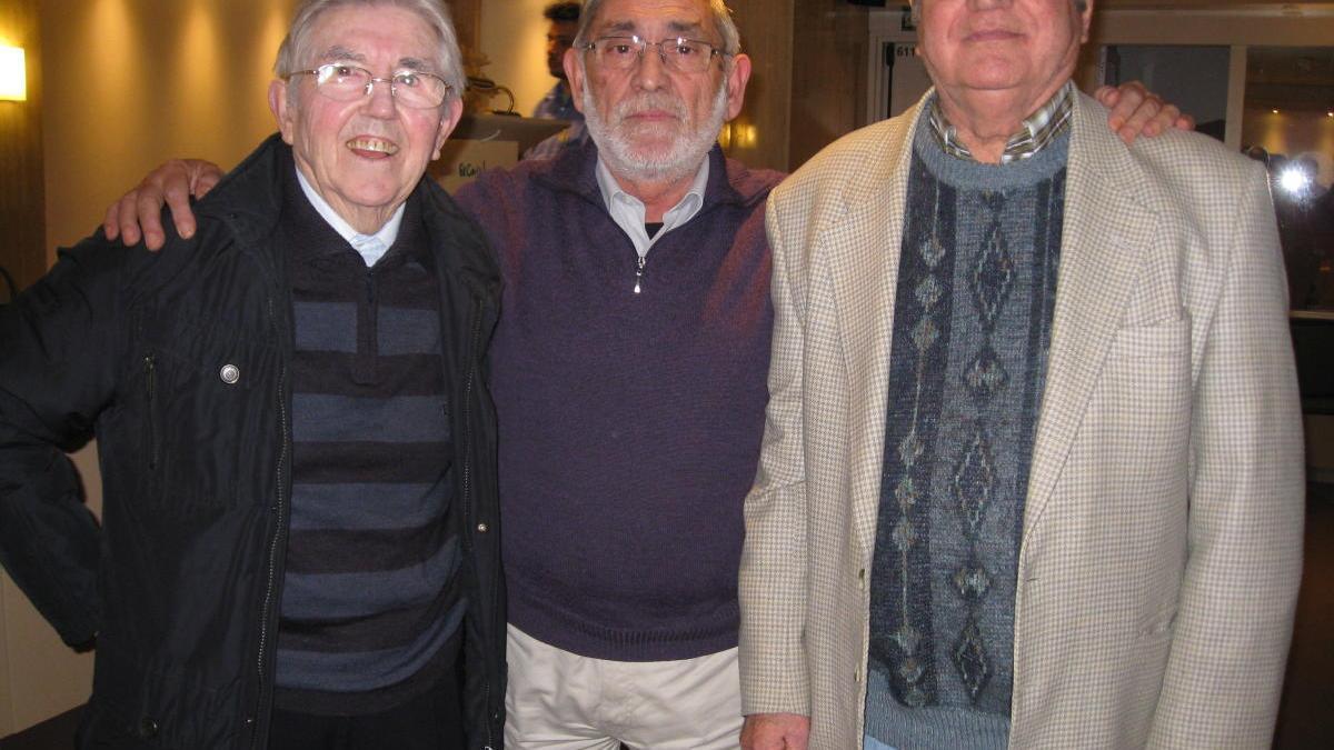 """El """"top 3"""": Josep Pascual, Miguel Santaeulalia y José Martínez Mollá"""