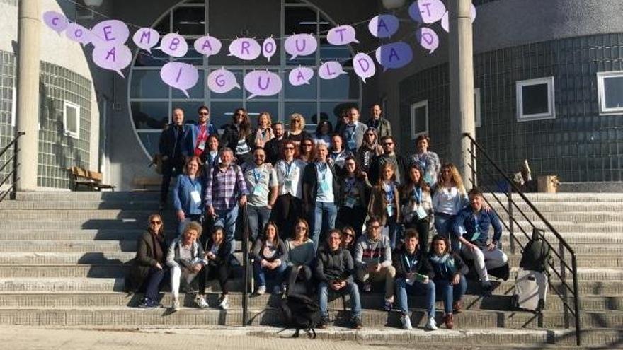 El IES Joan Maria Thomàs participa en unas jornadas de innovación en Galicia