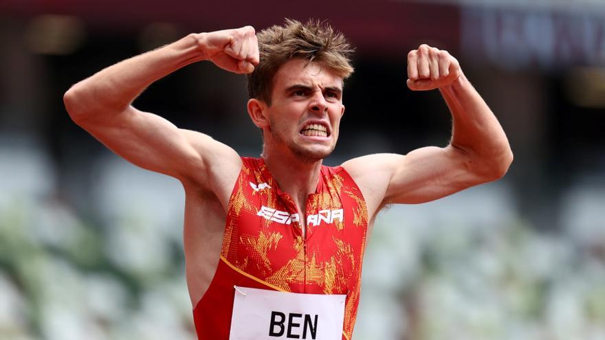 El atleta Adrián Ben se convierte en el primer español en una final de 800 metros