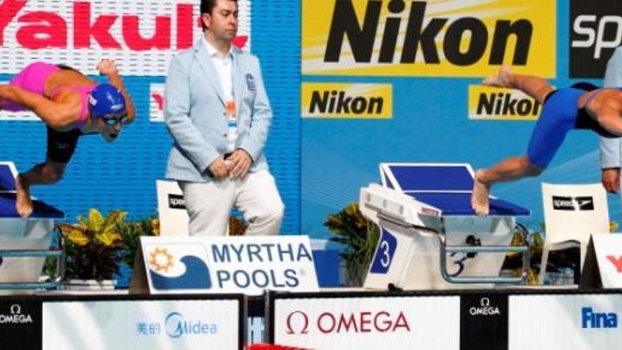 """Mireia Belmonte, """"baja definitiva"""" por enfermedad en los Mundiales de Windsor"""