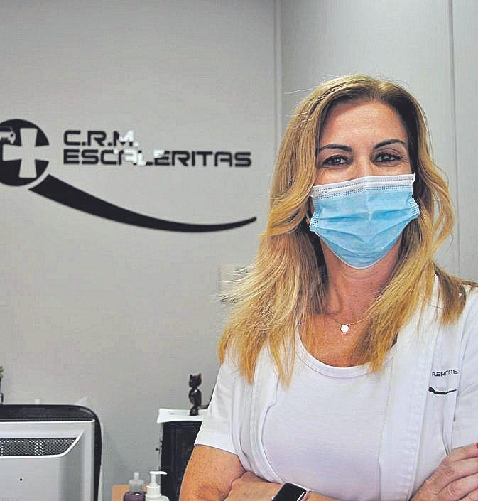 Verónica Cabrera, propietaria y directora del centro.