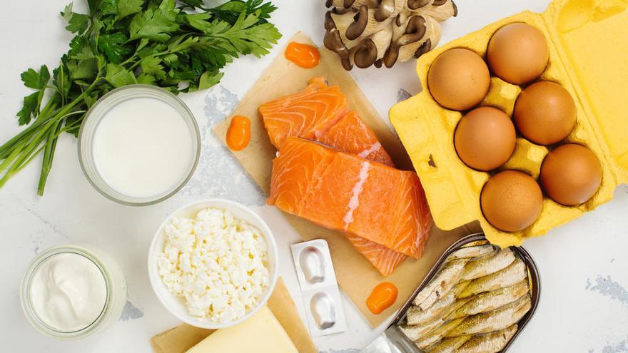 Salmón y lácteos, los sustitutos de las vitaminas solares en cuarentena