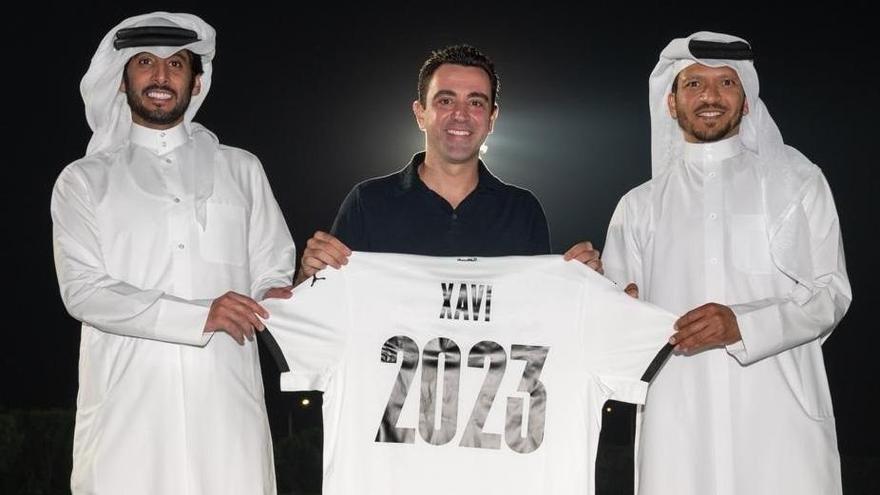 Xavi renueva con el Al Sadd otros dos años