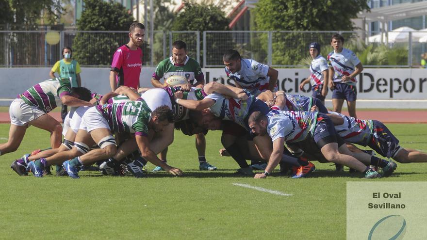 El Club de Rugby Málaga vuelve a ganar y se mantiene líder