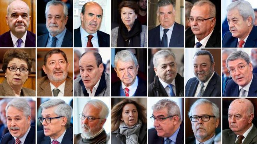 Anticorrupción pide el ingreso en prisión de cuatro condenados por los ERE