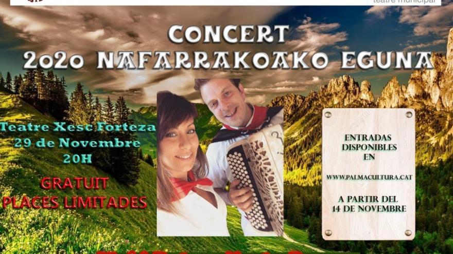 2020 Nafarroako Eguna, amb Marta Peruga i Iñaki Reta en concert