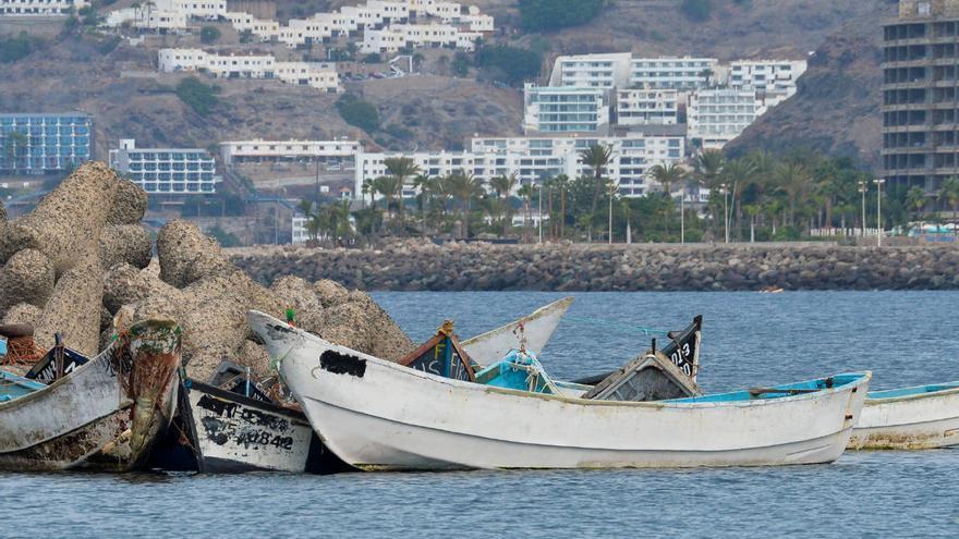 Salvamento rescata otras cinco pateras y cayucos en el sur de Gran Canaria