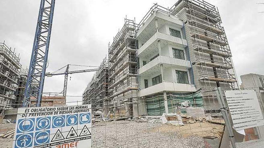 Primera caída de nuevos proyectos de futuras viviendas en Mallorca desde 2014