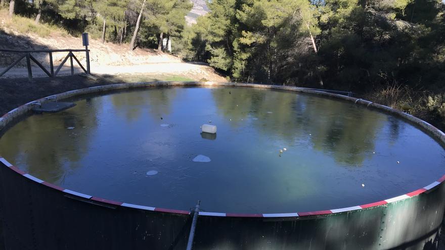 Villena registra -11,8 grados en la Lagunilla y Elda -4,6 grados en el Pantano