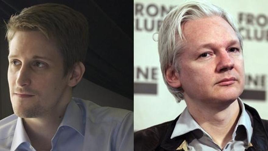 Assange y Snowden celebran la decisión de Obama
