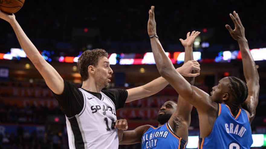 Los Spurs de Pau Gasol se asoman al precipicio