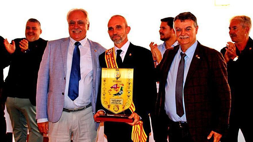 Antoni Perelló se proclama campeón absoluto de Balears de colombofilia