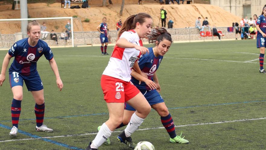 El Girona femení empata i confirma el descens (1-1)