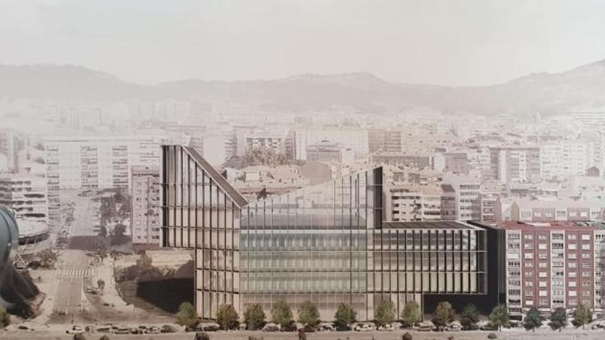 Así será el World Car Center de Vigo