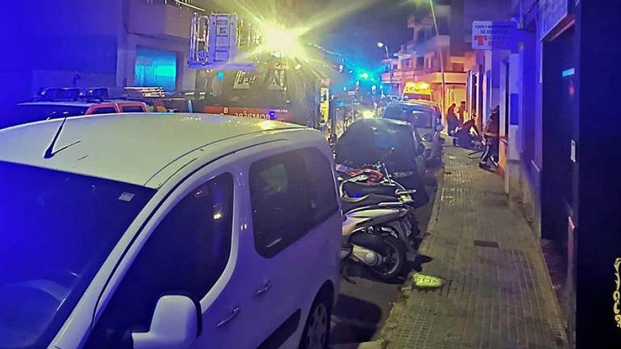 Muere un hombre de 62 años al incendiarse su casa en Mallorca