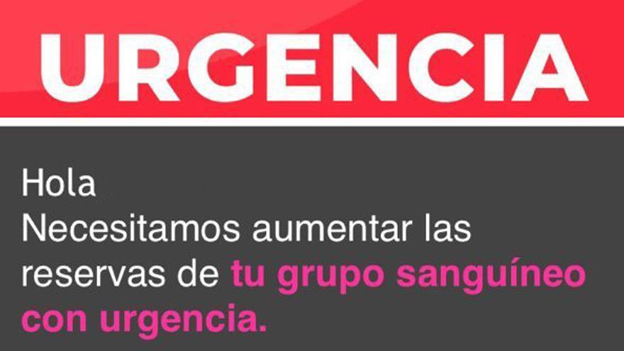 Urgen donaciones de sangre en Baleares